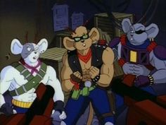 Biker Mice from Mars 1993. Vinnie, Throttle and Modo. They were so damn awesome.