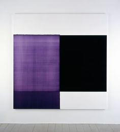 2006 Exposed Painting Violet, Red Oil on canvas | 207.5 x 202.5 cm