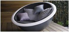 Lounge, Indoor Outdoor, Outdoor Decor, Bassinet, Design Trends, Craftsman, House Design, Outdoor Furniture, Pure Products