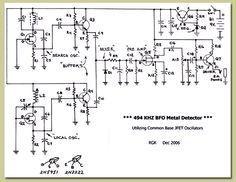 BFO Metal Detector (Beat Frequency Oscillator)