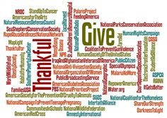50 Nonprofits To Be Thankful For: http://nonprofitorgs.wordpress.com/2011/11/20/50-nonprofits-to-be-grateful-for-this-thanksgiving/