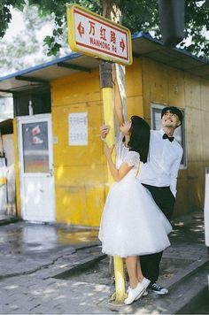 ♡Save = follow♡ //kim yoon rei Couple Photoshoot Poses, Pre Wedding Photoshoot, Couple Posing, Couple Shoot, Wedding Pics, Wedding Couples, Figure Photography, Couple Photography Poses, Korean Wedding