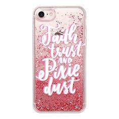 Faith Trust and Pixie Dust - iPhone 7 Case, iPhone 7 Plus Case, iPhone 7 Cover, iPhone 7 Plus Cover featuring polyvore, women's fashion, accessories, tech accessories, iphone case, iphone cover case, iphone hard case, iphone cases and apple iphone case