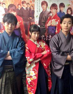 ちはやふる公式 @chihaya_koshiki 3月16日 皆さん、おはようございます! まもなく、ZIP!に出演いたします!これからの生出演、ぜひチェックしてくださいね!! いってきまーす(=´∀`)人(*^^*)人(´∀`=) #ちはやふる Best Romance Anime, Kento Yamazaki, Japanese Characters, Life Photo, Asian Actors, Me Me Me Anime, Seventeen, Famous People, Beautiful People