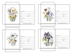 seed packets to make for wedding..add seeds of love