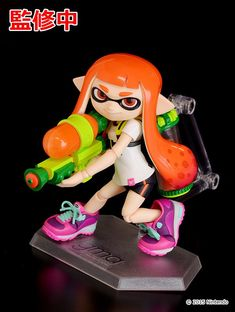Splatoon figma revealed (Splatoon 2 figma announced) http://bit.ly/2lnzap3 #nintendo