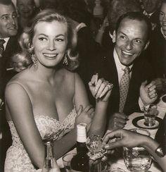 Anita Ekberg and Frank Sinatra