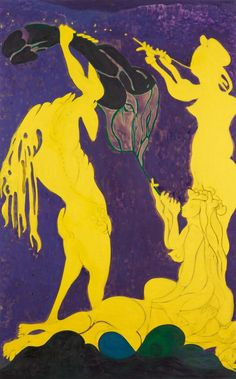 Chris Ofili came to prominence in the early 1990s with richly orchestrated paintings combining rippling dots of paint, drifts of glitter, collaged images and elephant dung - varnished, often studded with map pins and applied to the picture surface as well as supporting the canvas - a combination of physical...