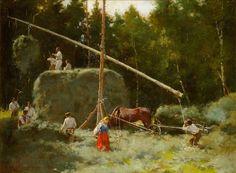 Kazimierz Alchimowicz (1840-1916): 'Sianokosy' / 'Haymaking', 1894