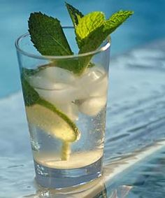 How to make a Mojito - Cuban Rum Cocktail - Simple, Easy-to-Make Cuban, Spanish, and Latin American Recipes with Photos