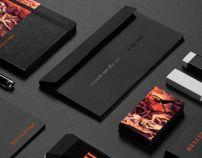 HELLFIRE by Cris Labno  #branding #design #printdesign @Cris Edwards Labno