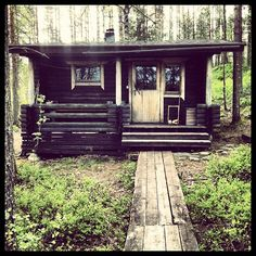 sauna at camp & a jump in the lake, please summer hurry up!!