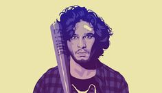The Game of Thrones Cast in '80s Themed Fan Art