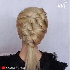 Hairdo For Long Hair, Long Hair Video, Easy Hairstyles For Long Hair, Elegant Hairstyles, Girl Hairstyles, Braided Hairstyles, Hairstyle Tutorials, Style Hairstyle, Hairstyles 2018