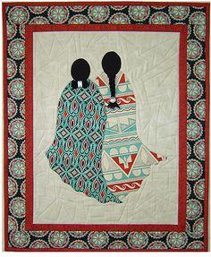 Best Friends applique quilt pattern by J. Michelle Watts