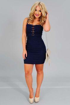 Spice It Up Dress: Denim #shophopes