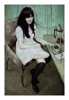 Jonathan Viner / Coffee Art / Coffee Shop Stuff