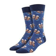 Significant Otter Socks (Meaningful first Valentine gifts for boyfriend)