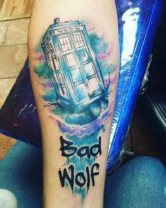 Check out @sunshine.spinner's new ink! It's very spacey wacey. #DoctorWho