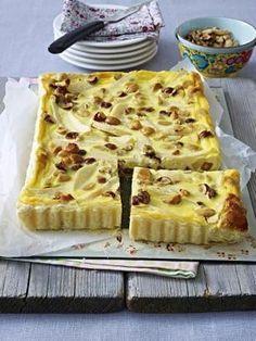 Birnen-Nuss-Pie
