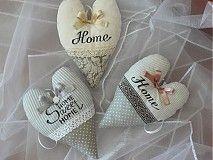 Dekorácie - srdcia HOME - 3992136_