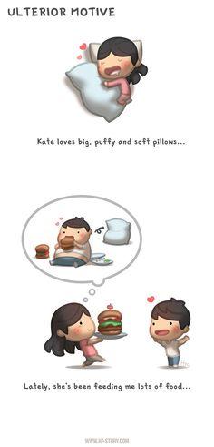 HJ Story - Kate's been feeding me…. I sense an ulterior...