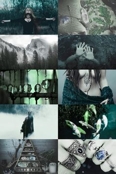 Celtic + Pisces Witch Aesthetic ; requested by anon