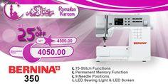 Bernina 350 #ramadan #kareem #discount #sale #sewing #machine #bernina #stitch #fashion #online #mall
