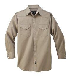 566efcda98c47 Walls Mid Weight Welding Shirt. Mens Work ...
