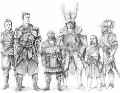 NUMENOREANSlr by AbePapakhian on DeviantArt New Fantasy, Fantasy Armor, Dark Fantasy, Medieval Art, Medieval Fantasy, Character Aesthetic, Character Art, Lotr Elves, John Howe