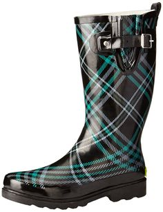 Western Chief Women's Chevy Plaid Rain Boot ** Check out the image by visiting the link.