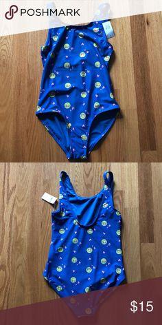 8272a4e290 Gap kids emoji print one piece swim suit Gap kids emoji print one piece bathing  suit