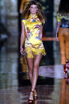 Roberto Cavalli Spring 2003 Ready-to-Wear Fashion Show: Complete Collection - Style.com