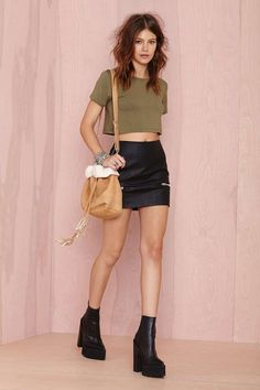 After Party Vintage Betina Crop Top | Shop Cropped at Nasty Gal