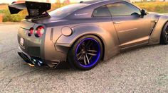 Beasty GT-R R35 equipped Armytrix Performance Exhaust and Liberty Walk b...