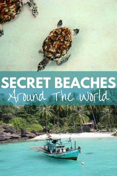 Ok, my bucket list just got 10 beaches longer... I need to visit all of these! Escape the crowds and go in search of these idyllic, irresistible secret beaches around the world - recommended by locals and curious travelers...(Click through to read)