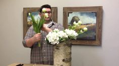 Fool Proof Floral Arrangement by jeremy rice. We know that floral arranging can sound intimidating, so we wanted to show you a fool proof arrangement!  Be sure to check us out at 250 Walton Ave Lexington KY 40502, 859.523.3933  housebyjsd.com