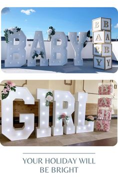Light up Names & LOVE by LAvenueStudio. Wedding oversized lighting decoration for indoor and outdoor. Personalized Light up Names. Custom led letters & Big number lights for event, wedding, the birthday of baby, kids and adults, anniversaries and other party Light Decorations, Flower Decorations, Wedding Decorations, Wooden Photo Box, Light Up Letters, Retro Lamp, Marquee Letters, Photo Storage, Bridal Musings