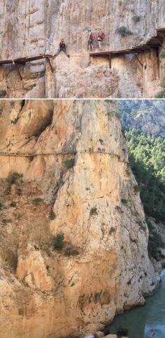 El Caminito Del Rey Trekking ~ Spain by minerva