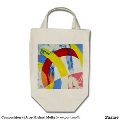 Composition #2A by Michael Moffa Grocery Tote Bag