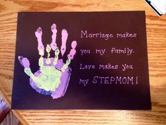 Great Gift Idea For New Stepmoms StepMothers Day Birthday Valentines Etc