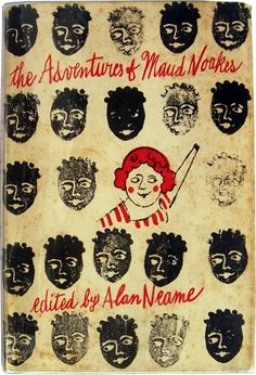 The Adventures of Maud Noakes, book cover by Andy Warhol, 1962