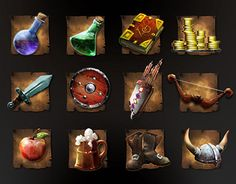 """Check out new work on my @Behance portfolio: """"RPG icon"""" http://be.net/gallery/37822655/RPG-icon"""