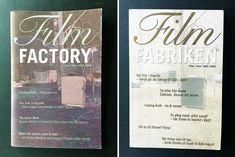 Film i Väst, anniverrsary magazine (design, concept, art direction, posters, books) Film, Cover, Books, Design, Movie, Libros, Film Stock, Book