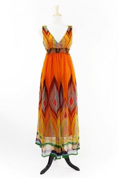 Dressing Your Truth - Type 3 Tango Maxi Dress