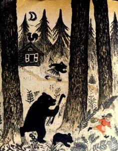 by Russian artist and illustrator Yuri Vasnetsov