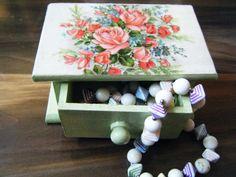 Small trinket box jewelry box ring box mint by hellodarlingjewelry, $15.00
