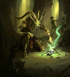 Forest Shaman by *sandara on deviantART #fey: