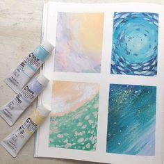 #Art #journal #sketchbook by pinwheel bunny More
