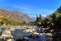 "Urubamba River - also known in Quechua as ""Willkamayu"" (sacred river)."